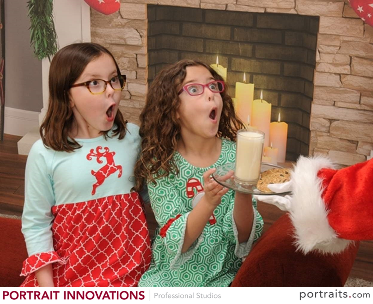 Family Christmas photo ideas include this fun shot at Portrait Innovations.