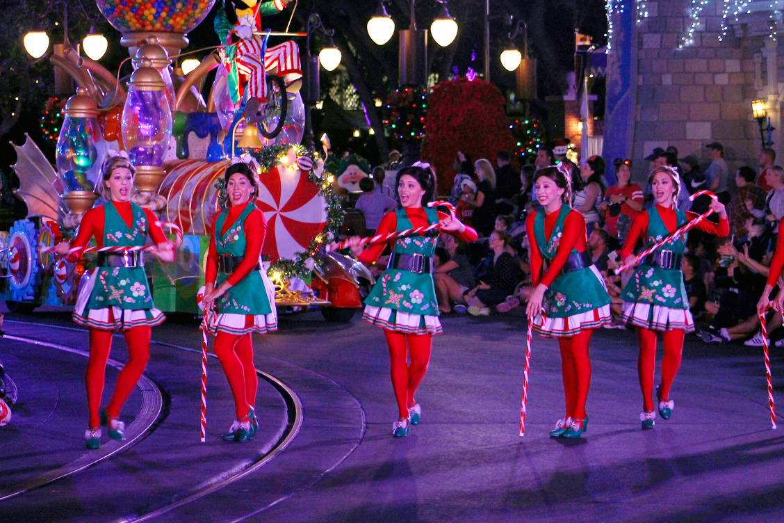 Best Tips for Mickey's Very Merry Christmas Party include seeing the parade at 11pm.