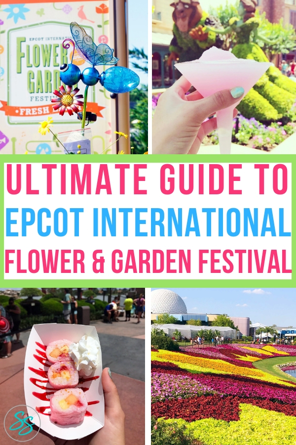 Check out this updated guide to the Epcot Flower and Garden Festival! This ultimate guide covers what the festival is, what to eat, what to see, and why families will enjoy attending. #epcot #disney #flowerandgarden #freshepcot