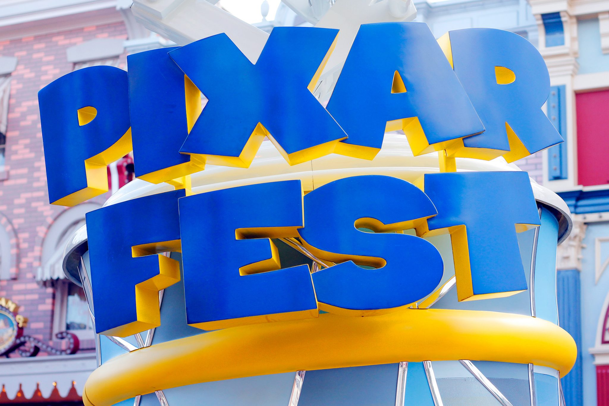 Pixar Fest at Disneyland is an exciting special event!