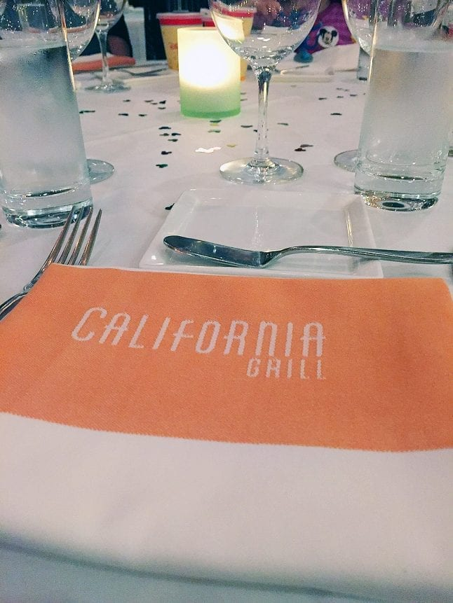 Dining at California Grill can be a nice splurge to celebrate any occasion.