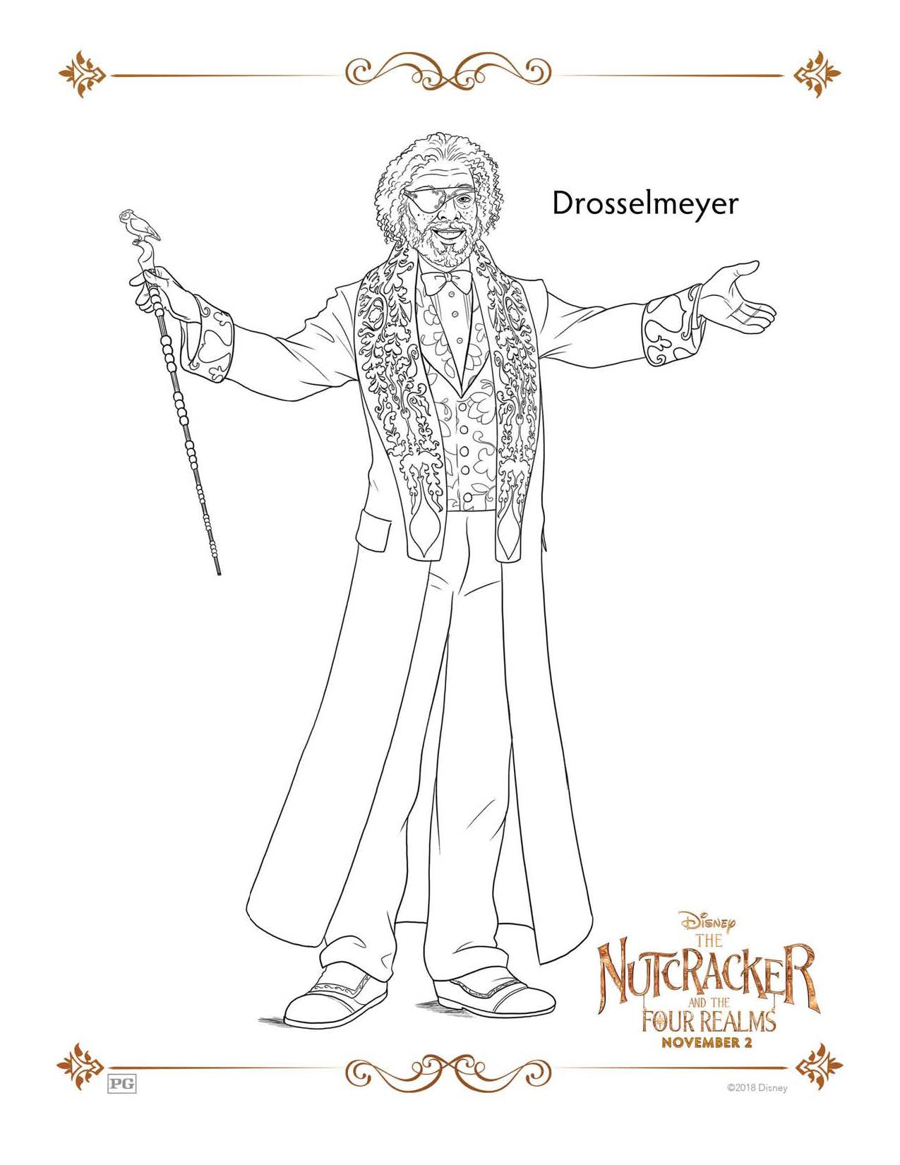 Disney's Nutcracker Free Coloring and Activity Sheets ...