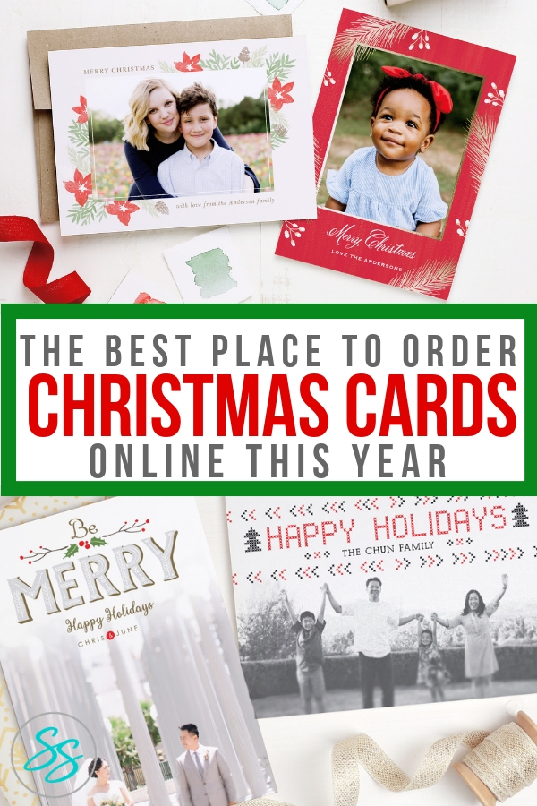 The Best Place to Order Christmas Cards Online - Sarah in the Suburbs