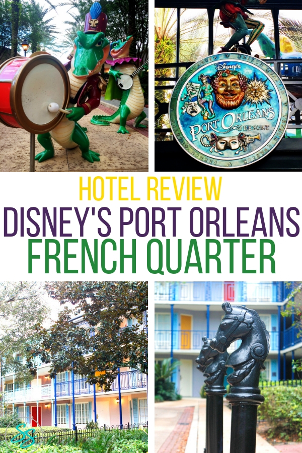 What's it like staying at Port Orleans French Quarter? Read my Disney's Port Orleans French Quarter Hotel Review and find out for yourself! #disneytravel #disneyworld