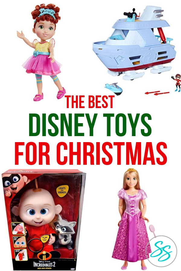 Where can you find the best Disney toys for Christmas? Jakks Pacific, of course! They have everything from supers to Fancy Nancy and everything in between. Get your Christmas list completed with these great toys today! AD #disneytoys #disneychristmas #christmaslist #kidstoys #fancynancy #incredibles2 #rapunzel