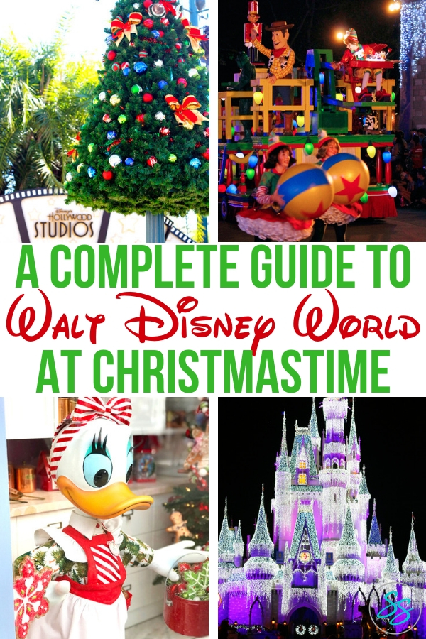 Simple have a wonderful Christmastime with this complete guide to Christmas at Disney World! #disneychristmas #disneytravel #disneytips #traveltips #holidaytravel #christmasatdisney #disneyworld #holidays #holidaysatdisney
