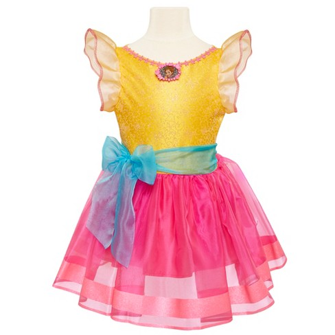 Fancy Nancy dress, just like the one from the Disney Junior show!