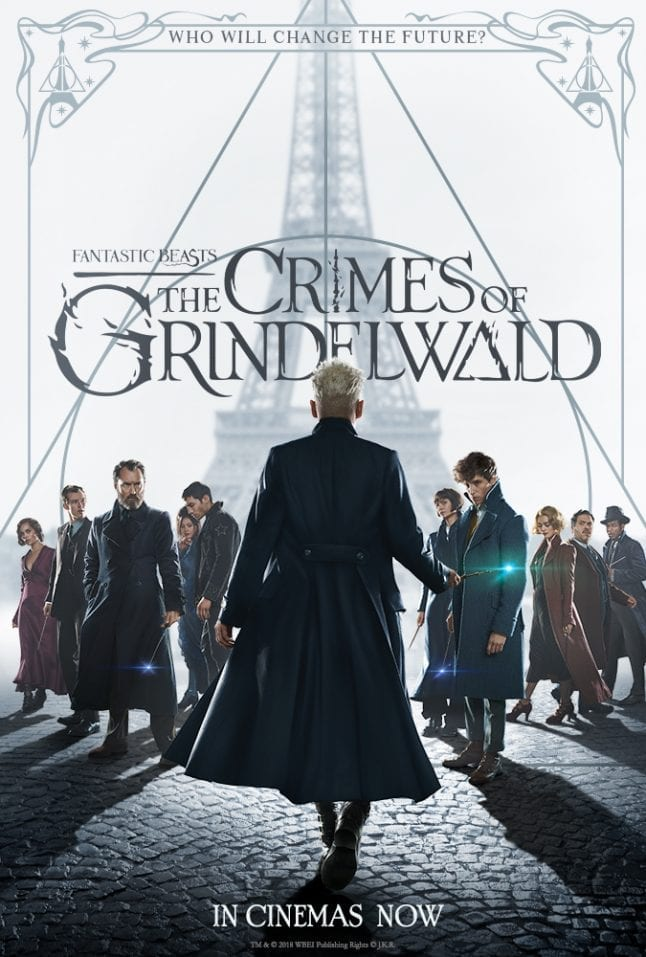 Fantastic Beast The Crimes of Grindelwald Movie Poster
