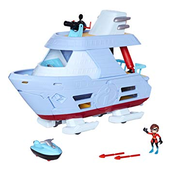 Disney toys like this boat from Incredibles 2 make great Christmas gifts.