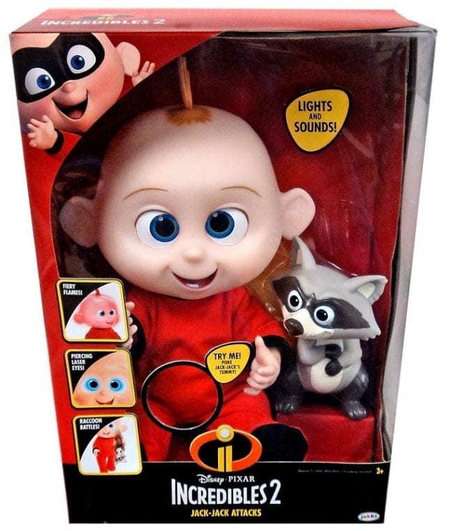 Jack Jack Attacks makes a great Disney toy for Christmas.