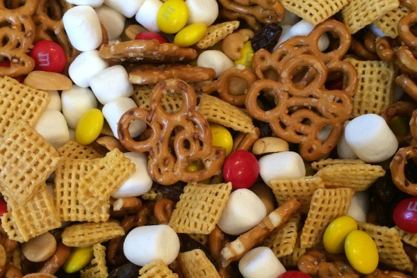 Mickey trail mix made by Trips with Tykes