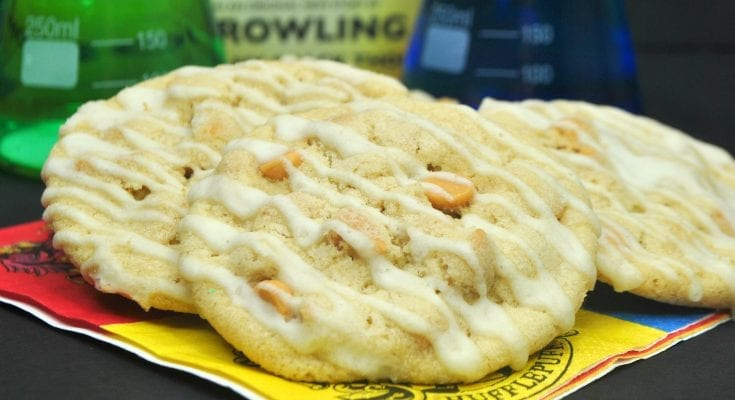 Butterbeer cookies inspired by the Harry Potter series are delicious!