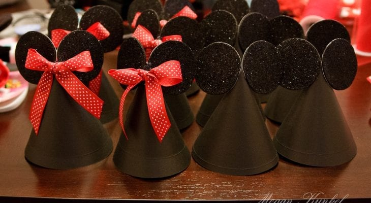 Mickey/Minnie Party Hats
