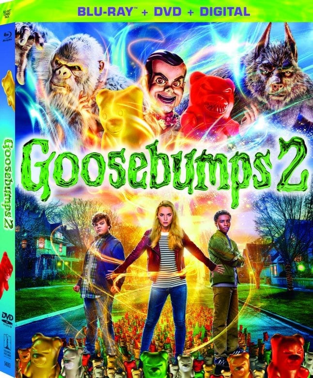Goosebumps 2 Blu-Ray/DVD Cover