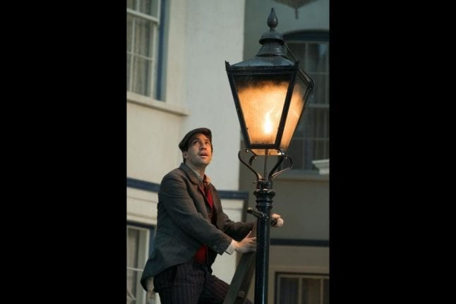 Jack the Lamplighter from Mary Poppins Returns