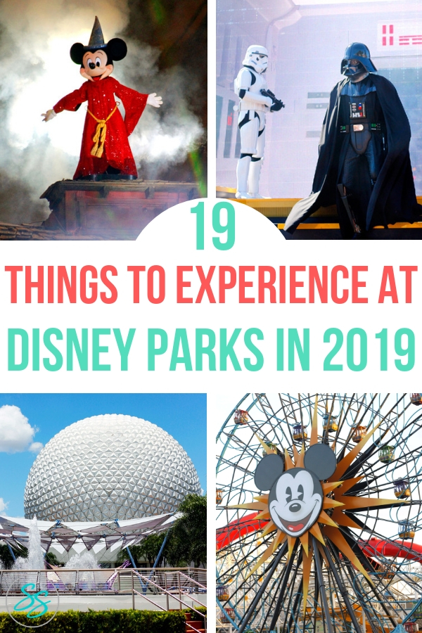 What's going on at Disney Parks in 2019? I've got 19 amazing things for you to do and see in 2019! #disneyparks #disneyland #wdw #disneyworld #disneytravel #disneytips #galaxysedge #starwars #newatdisney
