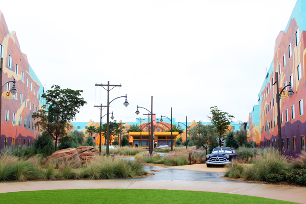 Art of Animation Cars Building