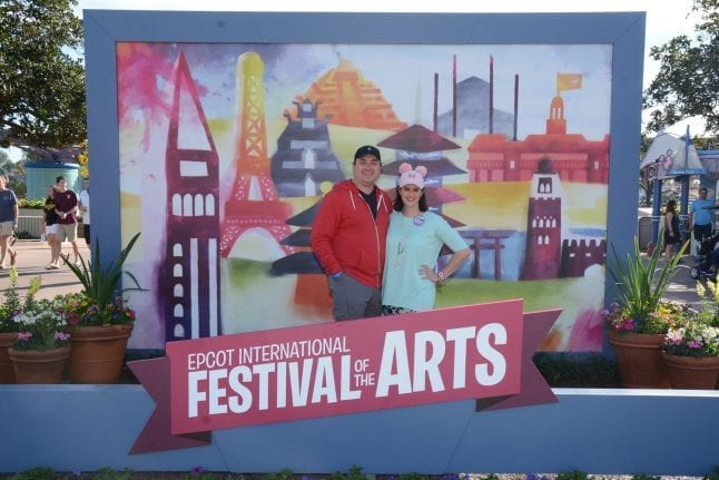 Don't miss this photo op at Festival of the Arts!