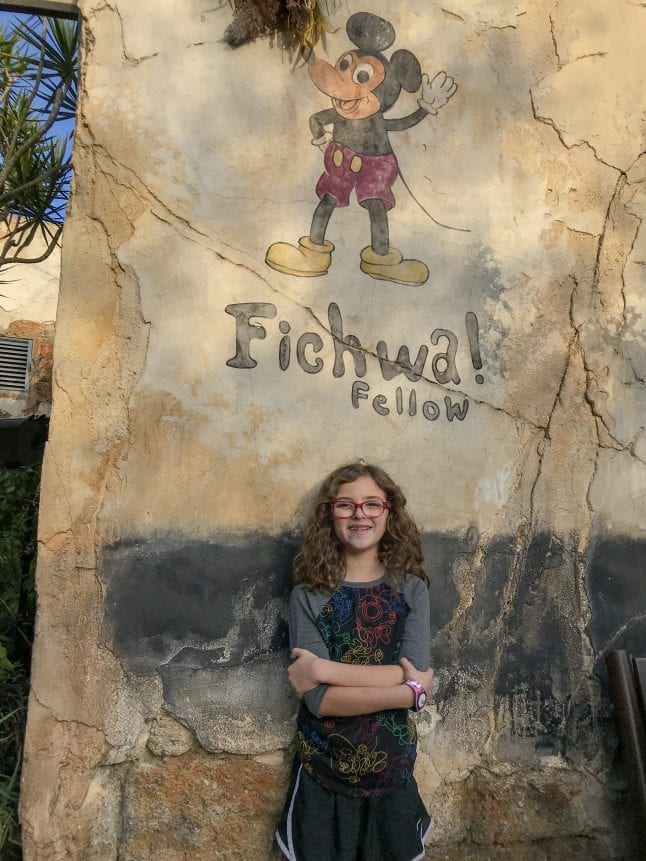 Find the Fichwa Fellow Wall in the Harambe Market.