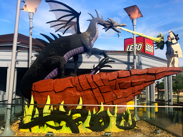 No ticket needed to play at the Lego Store at Disney Springs.