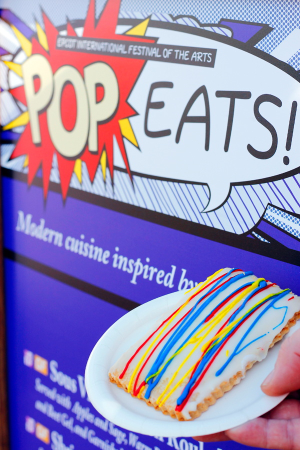 Pop't Art pastry from Pop Eats.