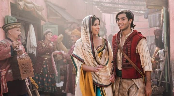 Live action version of Aladdin opens May 24!
