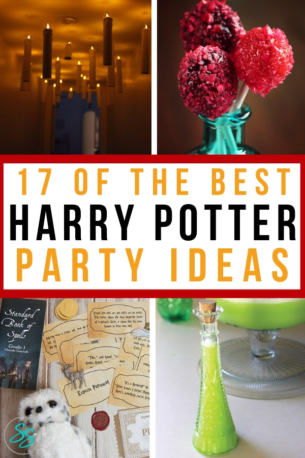 Plan your Wizarding World party with these easy Harry Potter party ideas. From food to decor to games and more, we've got a great list of party ideas! #harrypotter #harrypotterparty #partyideas #hpparty #wizardingworld #wizardingworldparty