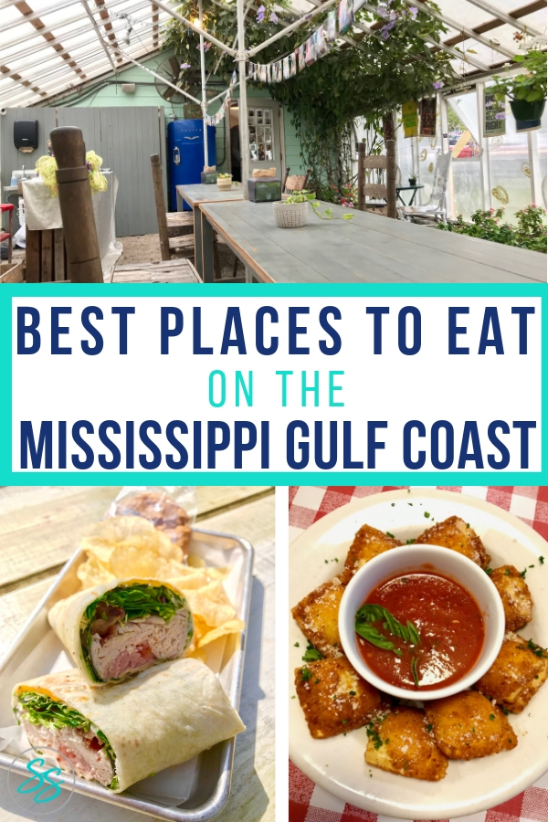 Plan your trip to the Mississippi Gulf Coast with this list of the very best places to eat! #sponsored #msgulfcoast #visitmississippi #traveltips #familytravel #southerntravel