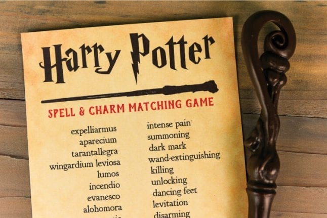 Harry Potter matching game
