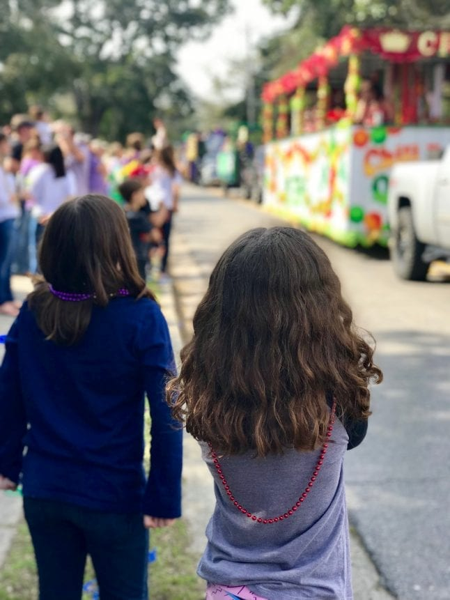 Enjoy a local Mardi Gras parade when you visit the Mississippi Gulf Coast.