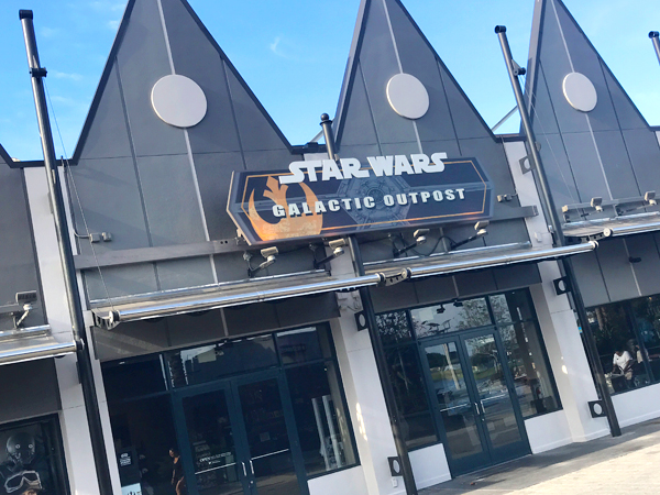 Visit a Star Wars store that sells nothing but Star Wars merchandise at Disney Springs.