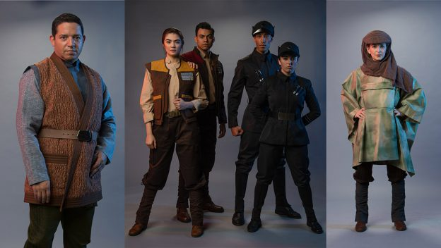 Cast Member Costumes for Galaxy's Edge