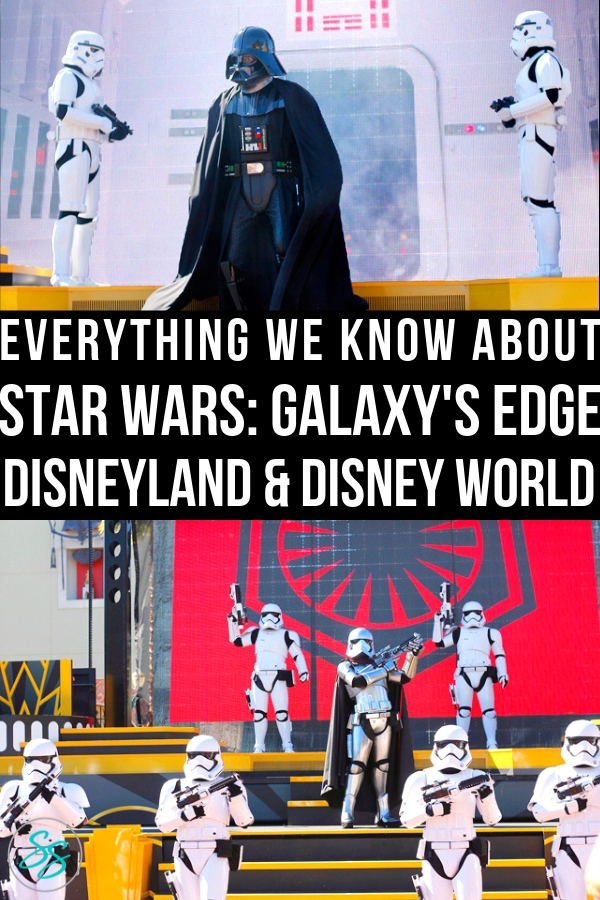 Galaxy's Edge has an opening date! Come read everything we know about the new Star Wars land at Disneyland and Disney World! #starwars #galaxysedge #disneyland #disneyworld #disneytravel