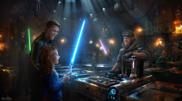 Lightsaber Shop Artist Rendering
