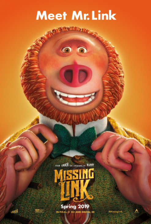 Poster for Missing Link Movie