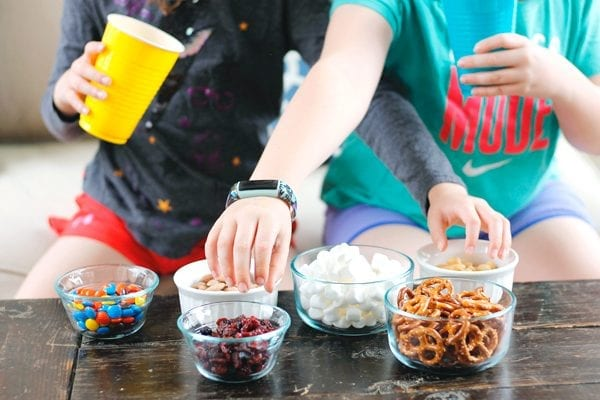 Make your own trail mix with these easy ideas inspired by the Missing Link movie!