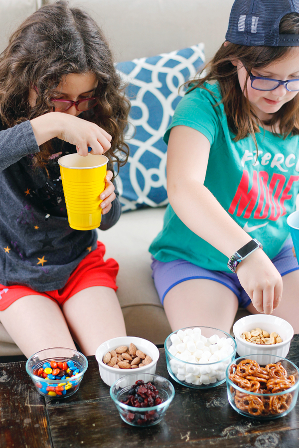 Missing Link inspired trail mix is so easy to make!
