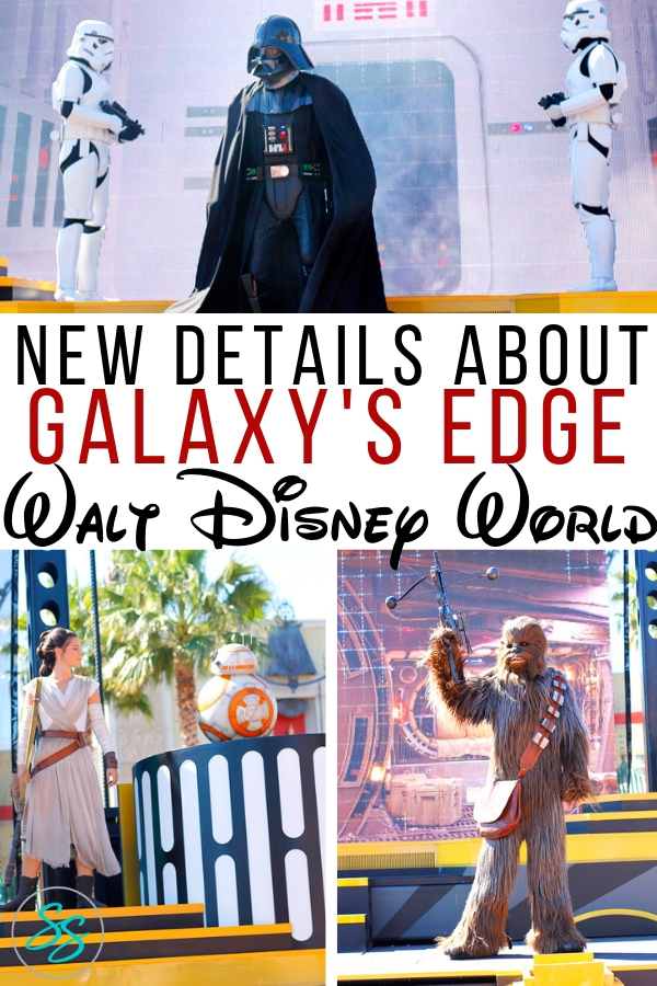 New details have emerged about Star Wars: Galaxy's Edge! Read them all here! #starwars #galaxysedge #disneyworld #disneytips
