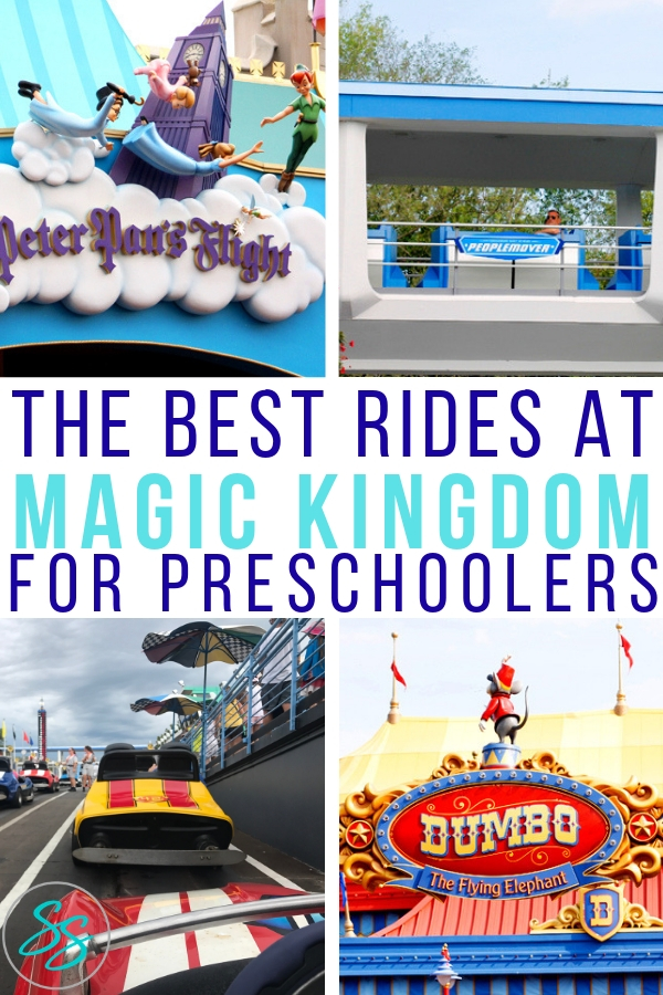 What are the best rides at Magic Kingdom for preschoolers? We've got a big list of the best rides! #disneytravel #disneytips #disneykids #familytravel