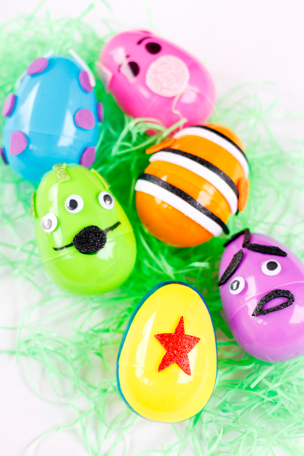 DIY Pixar inspired Easter eggs