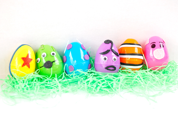 Easy DIY Pixar Easter eggs