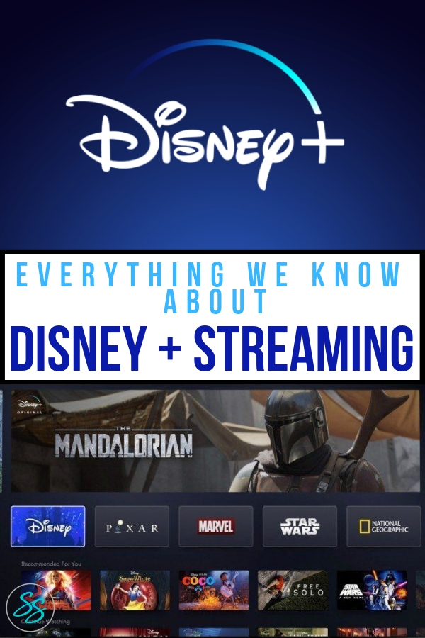 What is the Disney + streaming service? Is it family friendly? What will be on it? How much will it cost? More answers here! #disneyplus #marvel #starwars #disneyshows #disneymovies