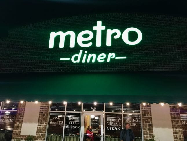 Metro Diner Now Open in Trussville