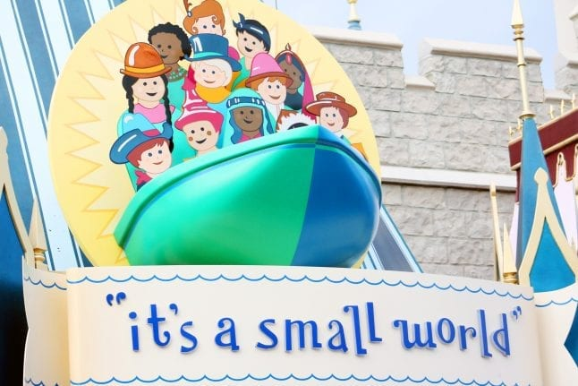One of the best rides for preschoolers at Magic Kingdom is it's a small world!