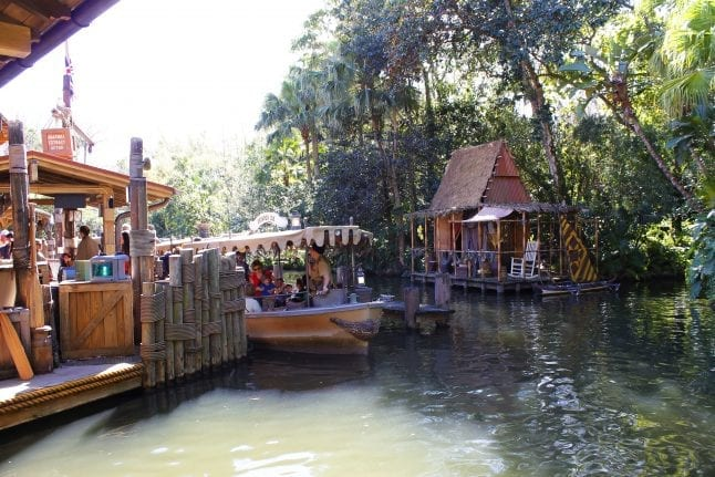Don't skip out on the funny antics of the Jungle Cruise skippers!