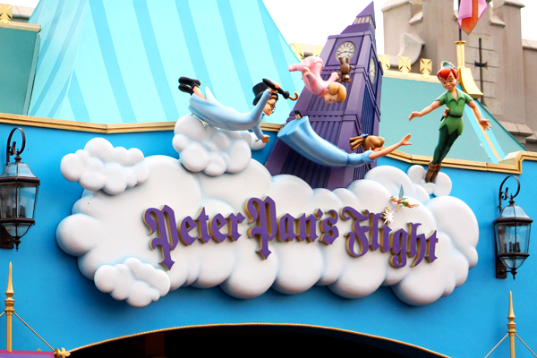 Preschoolers and toddlers alike will love the class ride Peter Pan's Flight at Magic Kingdom.