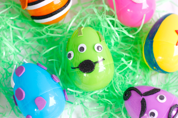 Alien from Toy Story Easter egg DIY craft