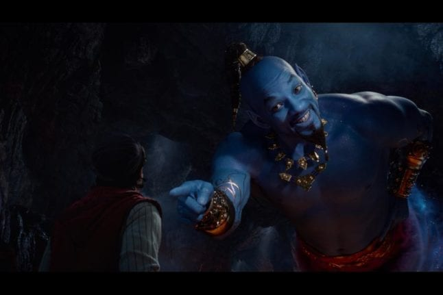 Will Smith as Genie in Disney's Aladdin live action remake.