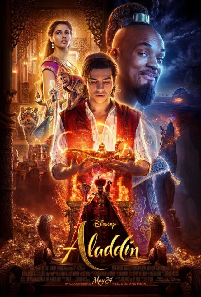 Aladdin live action movie poster