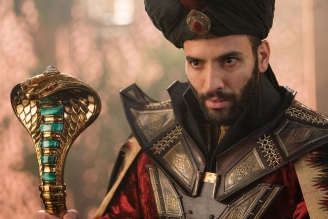 Jafar from Disney's live action Aladdin movie.